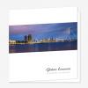 Rouwkaart Skyline Rotterdam