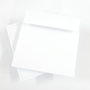 Rouw envelop Vierkant 170 x 170 mm