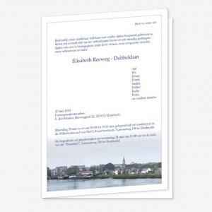Rouwkaart Papendrecht